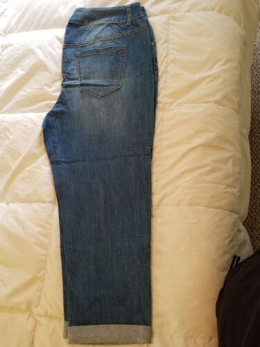 Jeans Stretch 22w Nwt Lane Bryant Femmes Distressed Weekend Plus axw1wP