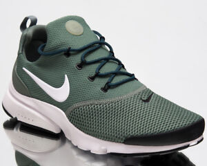 Nike Presto Fly Men Air New Shoes Clay Green White Black Sneakers ... 39b03c4f083