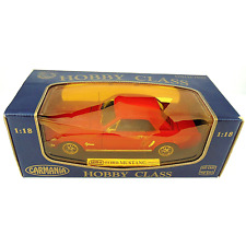 Mira Carmania Hobby Class 1964 Ford Mustang 1:18 Scale Diecast Red New