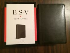 ESV Study Bible Personal Size - $64.99 Retail - Olive Trutone