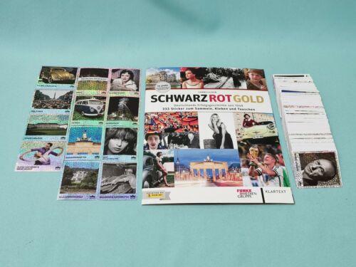 Panini Schwarz Rot Gold 100 Sticker aussuchen 70 Jahre Deutschland