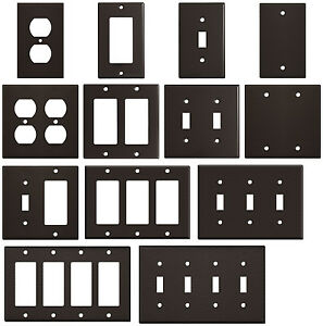 Image Is Loading Wrinkle Brown Textured Metal Wall Plate Covers Switch