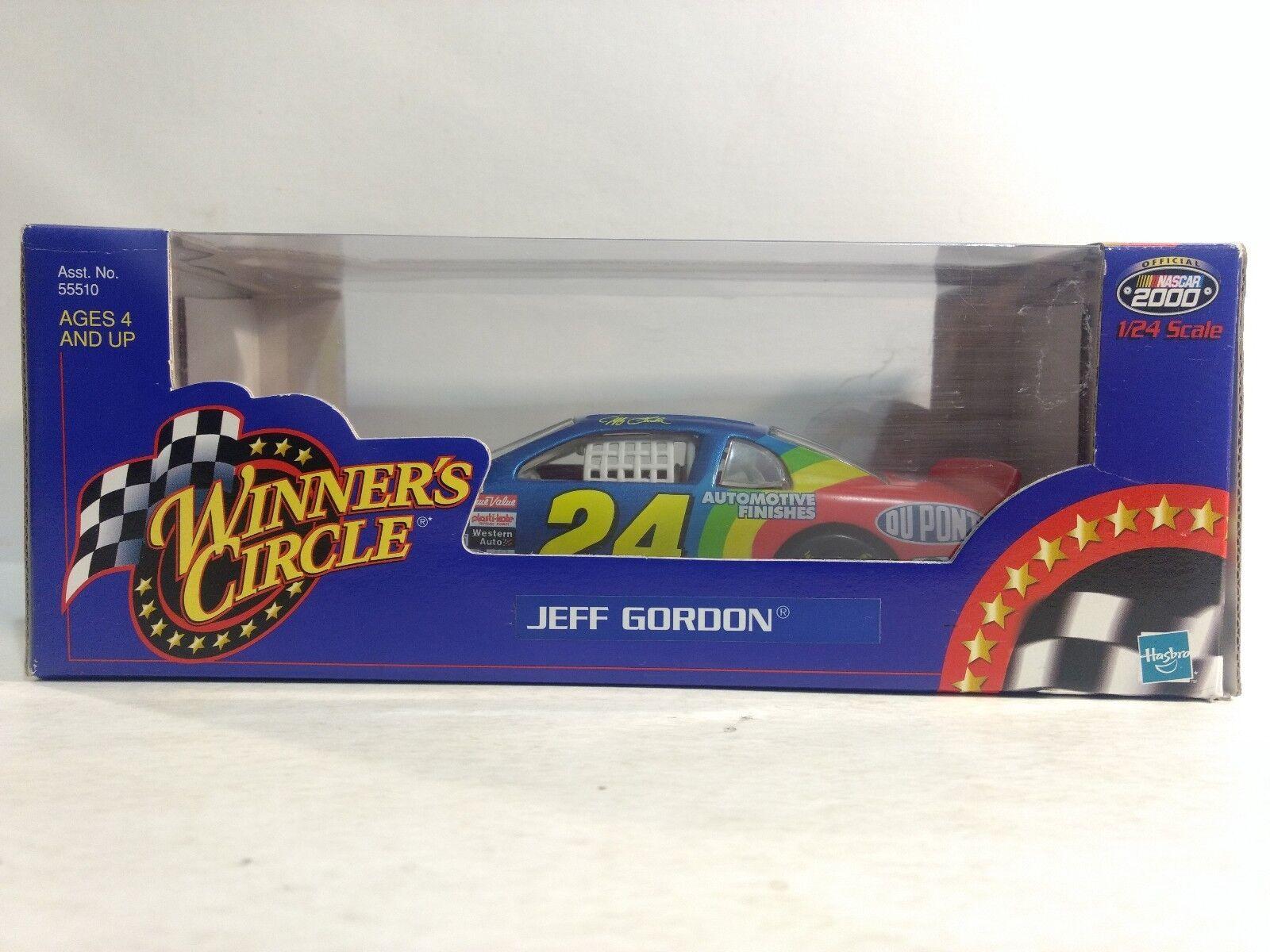 Nascar Jeff Gordon Dupont Chevy Monte Carlo 1 24 Escala de Metal Hasbro 2000