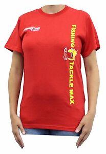 Hemden & T-Shirts Bekleidung TFT FTM Tubertini T-Shirt Rot versch Größen M L XL XXL XXXL Fishing Tackle Max