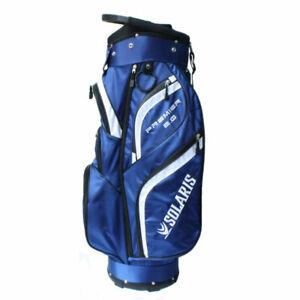 New-DTG-Solaris-Premier-2-0-Golf-Cart-Bag-14-WAY-TOP-Blue-White