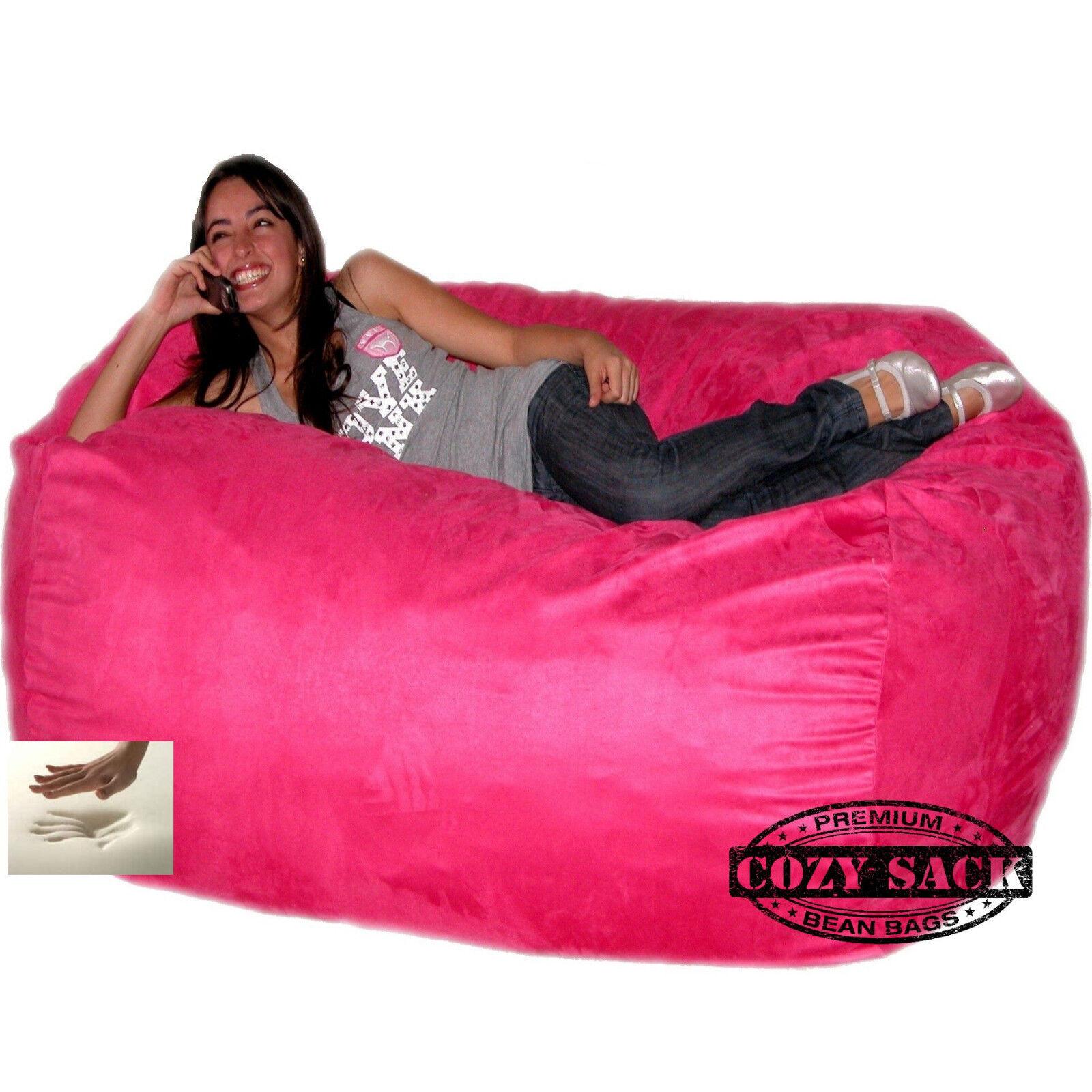 Sensational Giant Bean Bag Chair 6 Cozy Foam Filled By Cozy Sack Buy Factory Direct Uwap Interior Chair Design Uwaporg