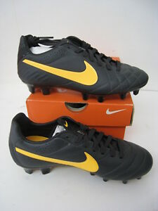 a15a520882 NEW Nike Tiempo Legend IV FG Size Mens Soccer Cleat Orange Black