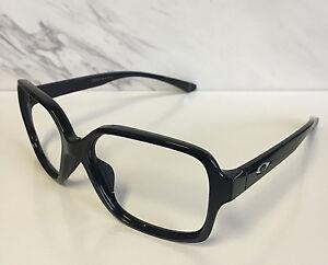 560ca2318cb New Oakley Proxy Polished Black   Silver O Sunglasses Frames (Frames ...