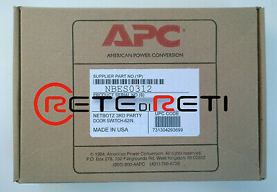 Cooperativa € 55+iva Apc Nbes0312 Netbotz Door Switch Sensor 1,5m For 3rd Party Racks New