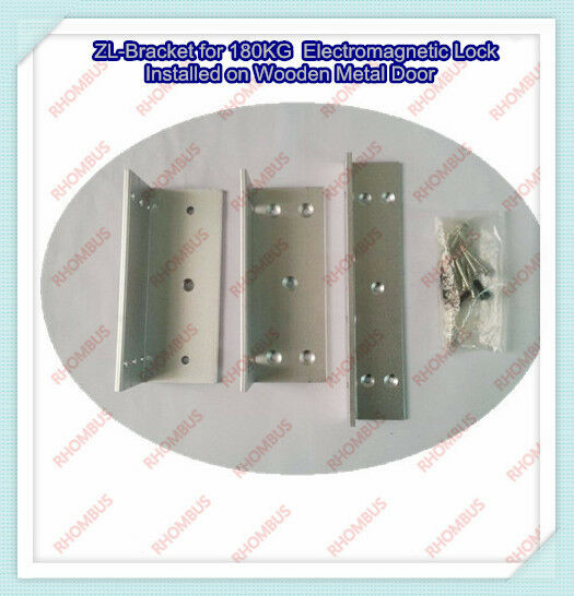 ZL-Bracket for 180KG  Electromagnetic Lock  Installed on Wooden Metal Door