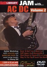 LICK LIBRARY Learn to Play JAM WITH AC/DC Rock N Roll Train GUITAR DVD Vol 2