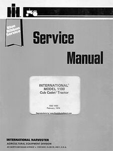 Cub-Cadet-1100-Series-SERVICE-Manual