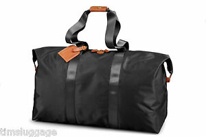 Bric-039-s-X-Bag-22-034-Travel-Packable-Folding-Duffel-w-Handbag-Pouch-NEW-Made-Italy