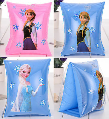 New Frozen Anna Elsa Girl Kid Swim Arm Bands Birthday Party Float Swimming Suits