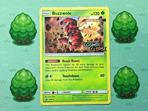 SM218 Pokemon Buzzwole SM Prerelease Promo