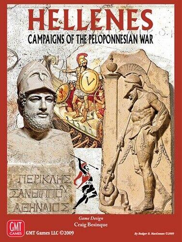 Hellenes Campaigns of the Peloponnesian War Shrinkwrap OOP by GMT Games