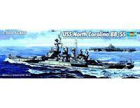 Trumpeter 1/700 Uss North Carolina Bb-55 5734 05734 Newsealed