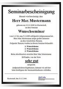 Seminarbescheinigung-Urkunde-Zertifikat-Diplom-Zeugnis-Geschenk-UK-257