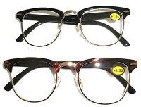 Browline Hornrim Style Vintage Reading Glasses Cheaters Spex