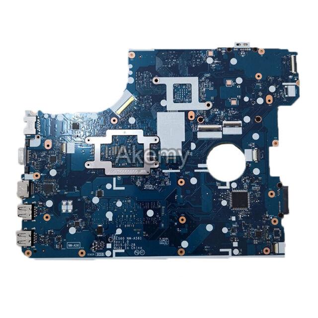 "For Lenovo ThinkPad E560 NM-A561 motherboard 15.6/"" 01AW106 i7-6500U CPU R7 M370"