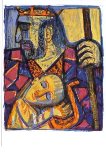 Kunstpostkarte Otto Dix Saul und David
