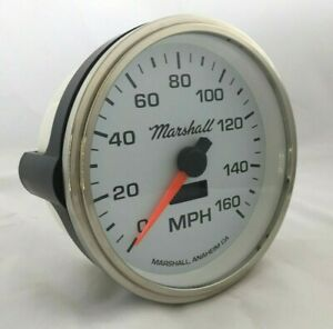 Marshall-5-034-In-Dash-Electronic-Speedometer-White-Dial-Step-Bezel-2254STP