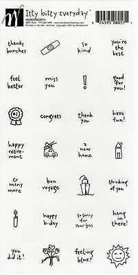 Wordsworth Stickers - PUCK Thank You Congratulations