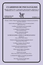 Cuadernos de Psicoanalisis, Volumen Xlii, Nums. 1-2, Enero-Junio De 2009 by...