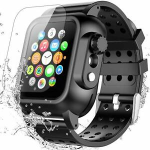 New-Apple-Watch-Series-4-Armor-Case-Band-44mm-Rugged-Protective-Cover-with-Strap
