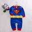 1pc Baby clothes Infant boys girls bodysuit one piece superhero photo props