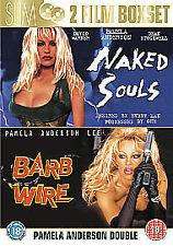 NAKED SOULS / BARB WIRE - PAMELA ANDERSON - 2 DVD SET RARE UK REGION 2