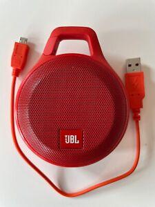+++ JBL Clip+ Rot Portable Bluetooth Speaker Lautsprecher Wasserfest +++