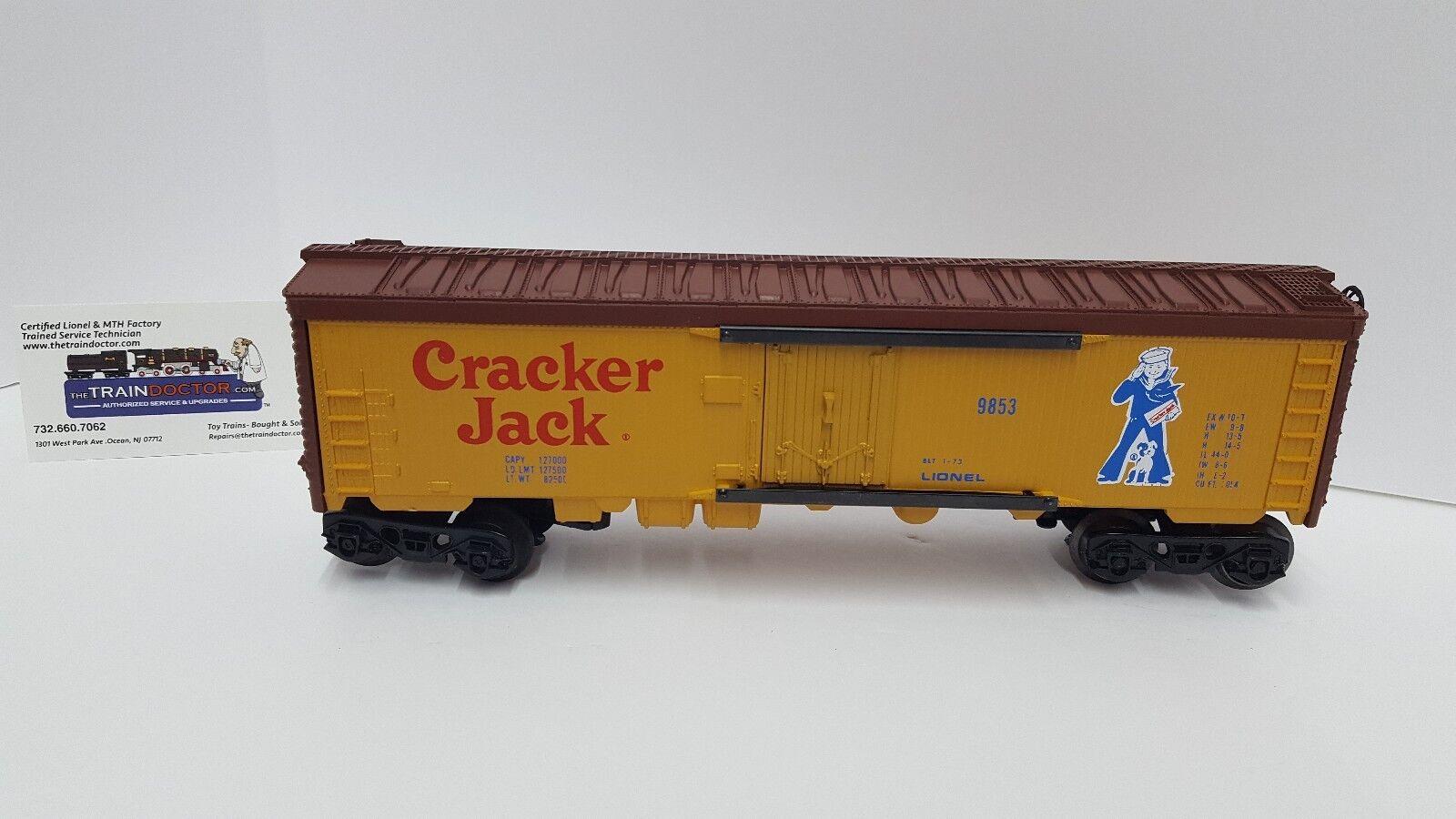 Lionel sautose automel Cracker Jack reefer 9853  NUOVO