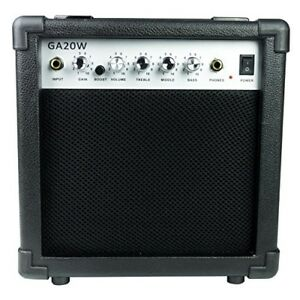 rockburn amp 20 watt amplifier for electric guitar works for electronic drums 2589034517459 ebay. Black Bedroom Furniture Sets. Home Design Ideas