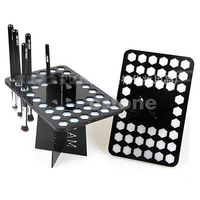 Hot Sale Folding Collapsible Air Drying Makeup Brush Organizing Tree Rack Holder