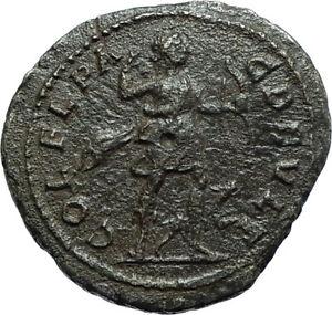 SEVERUS-ALEXANDER-222AD-Deultum-Authentic-Ancient-Roman-Coin-ARTEMIS-i66126