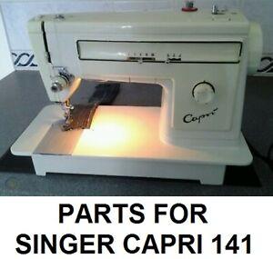 Original Singer Capri 141 Sewing Machine Replacement Repair Parts