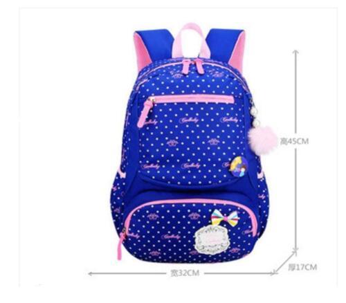 Cute Children Girls School Bag Waterproof Comfortable Backpack Kids Book Bag