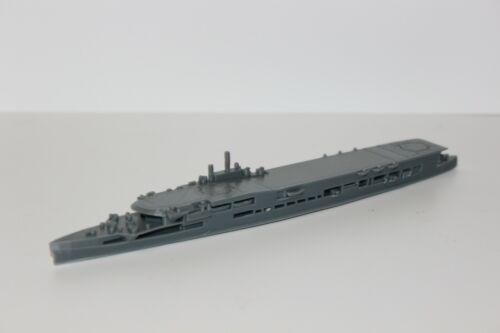 1//1200 WWII British Aircraft Carrier HMS Furious 3D Printed Grey
