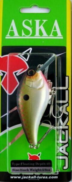 Chartreuse Shad Jackall ASKA 60SR,Square Bill,4 Footer