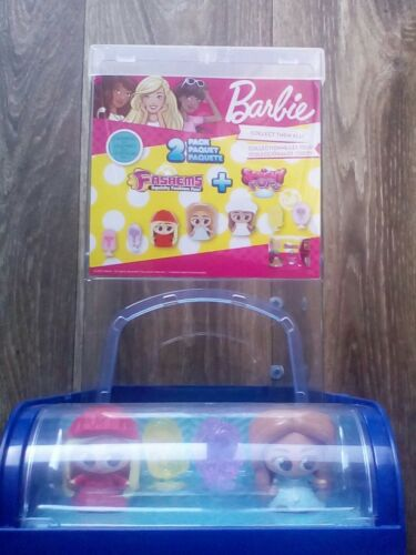 Barbie mattel doll lot new in box Mashems 4 + promo container
