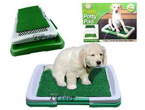 Toilette pour chien Chien Potty Patch Litière Lavable Lavable 3 couches Animaux besoins