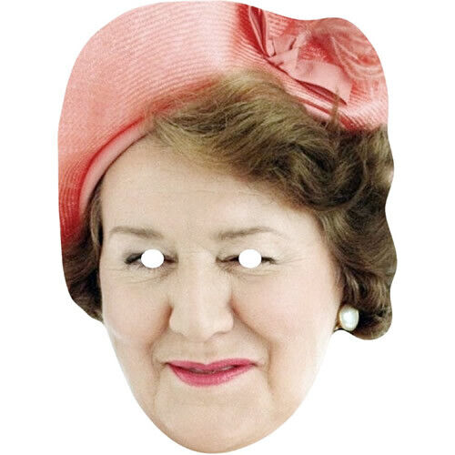 Patricia Routledge Hyacinth Bucket British Actor Card Mask Made By Funkybunky