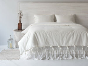 Linen-Duvet-Cover-Set-with-Tie-Closure-3pcs-Stone-Washed-Softened-European-Linen