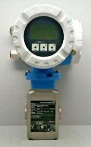 Details about ENDRESS HAUSER PROMAG 53 ELECTROMAGNETIC FLOWMETER  53H15-A00B1RA0BAAB DN15 1/2