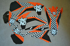 ONE INDUSTRIES TEAM KTM CHECKERS GRAPHICS 13 14 15 SX SXF & 14 15 16 XCW EXC