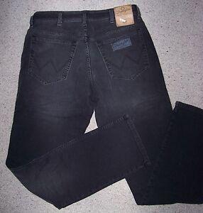 2 WRANGLER Jeans Texas stretch 1 StoneWash 1 Nero W40//L34