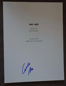 Elisabeth-Moss-Signed-Autographed-Mad-Men-Full-TV-Pilot-Episode-Script
