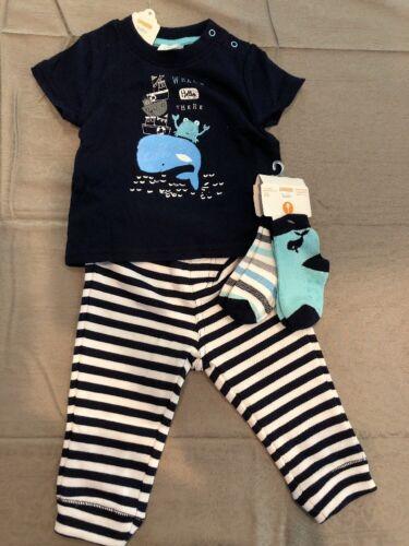 NWT Gymboree baby boy blue whale SPRING 4-piece socks SET 3 6 9 12 18 24 TWINS