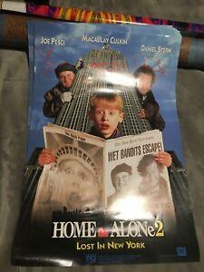 Home Alone 2 Lost In New York 1992 Original Daybill Film Poster Australia Ebay